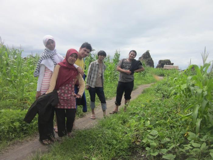 Medan menuju Tanjung Layar
