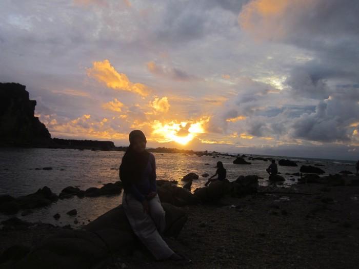 Sunset Tanjung Layar