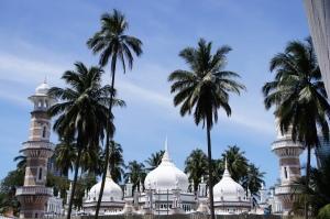 Masjid Jamek yang sedang di renovasi